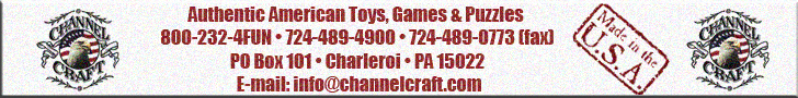 Channel Craft Toys and Games